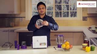 Wonderchef Nutri-blender Juicer Mixer Grinder Video Manual