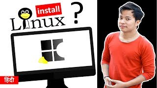 How to install Linux Operating System Using Pendrive on Computer   Ubuntu install kesee kare hindi