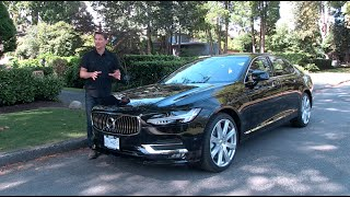 2017 Volvo S90 Review with Zack Spencer