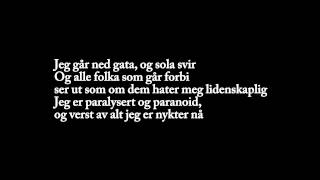 Joachim Nielsen - Nykter (Lyrics On Screen)
