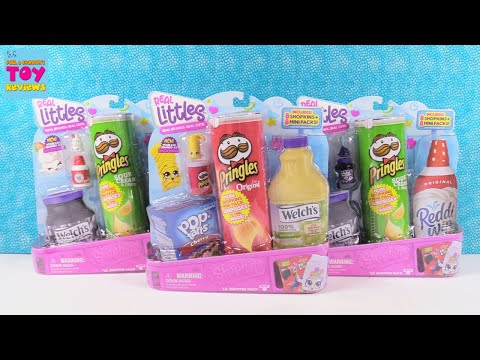 Shopkins Real Littles Lil Shopper Big Pack Unboxing Toy Review | PSToyReviews