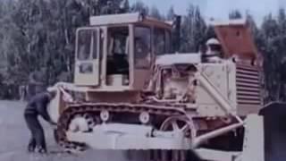 Техобслуживание бульдозеров на базе тракторов Т 130  1979