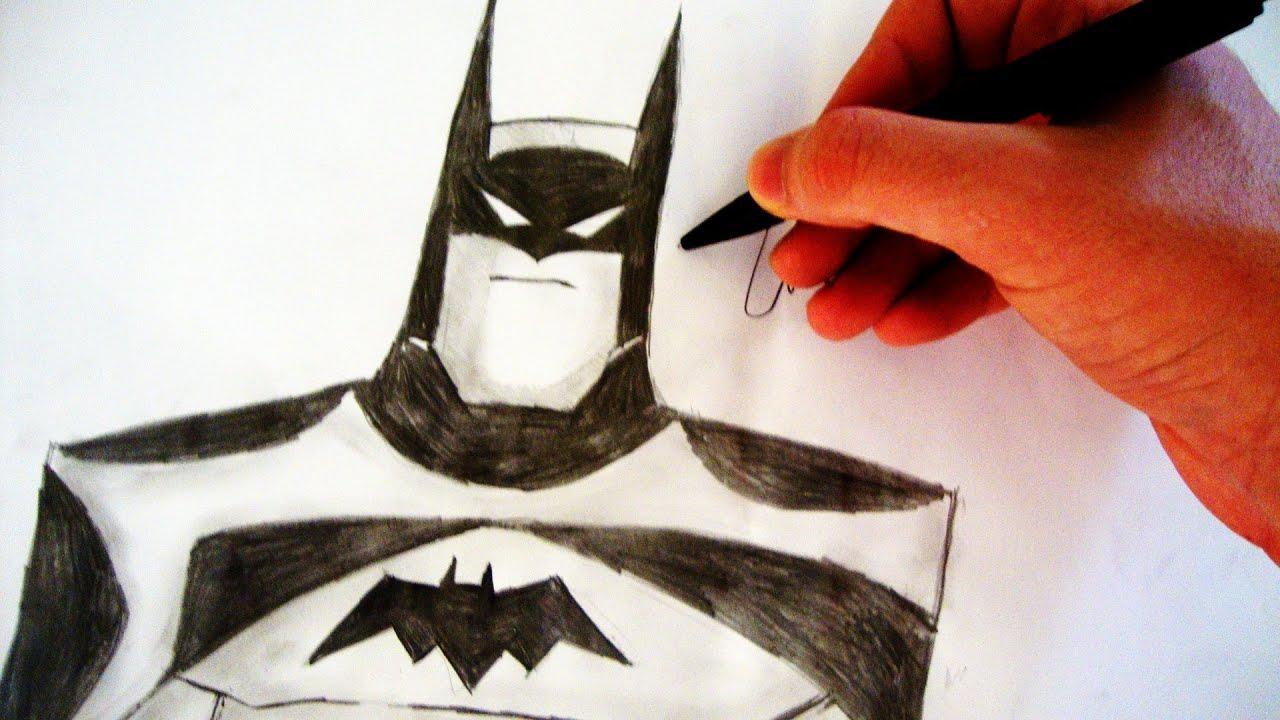 Como Desenhar O Batman Liga Da Justica How To Draw Batman