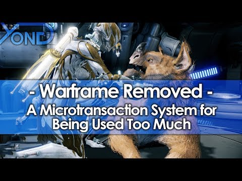 Warframe Removed a Microtransaction System for Being Used Too Much