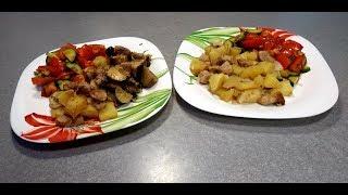 Рецепт Жаркое - видео-рецепт как готовить жаркое из свинины и картошки