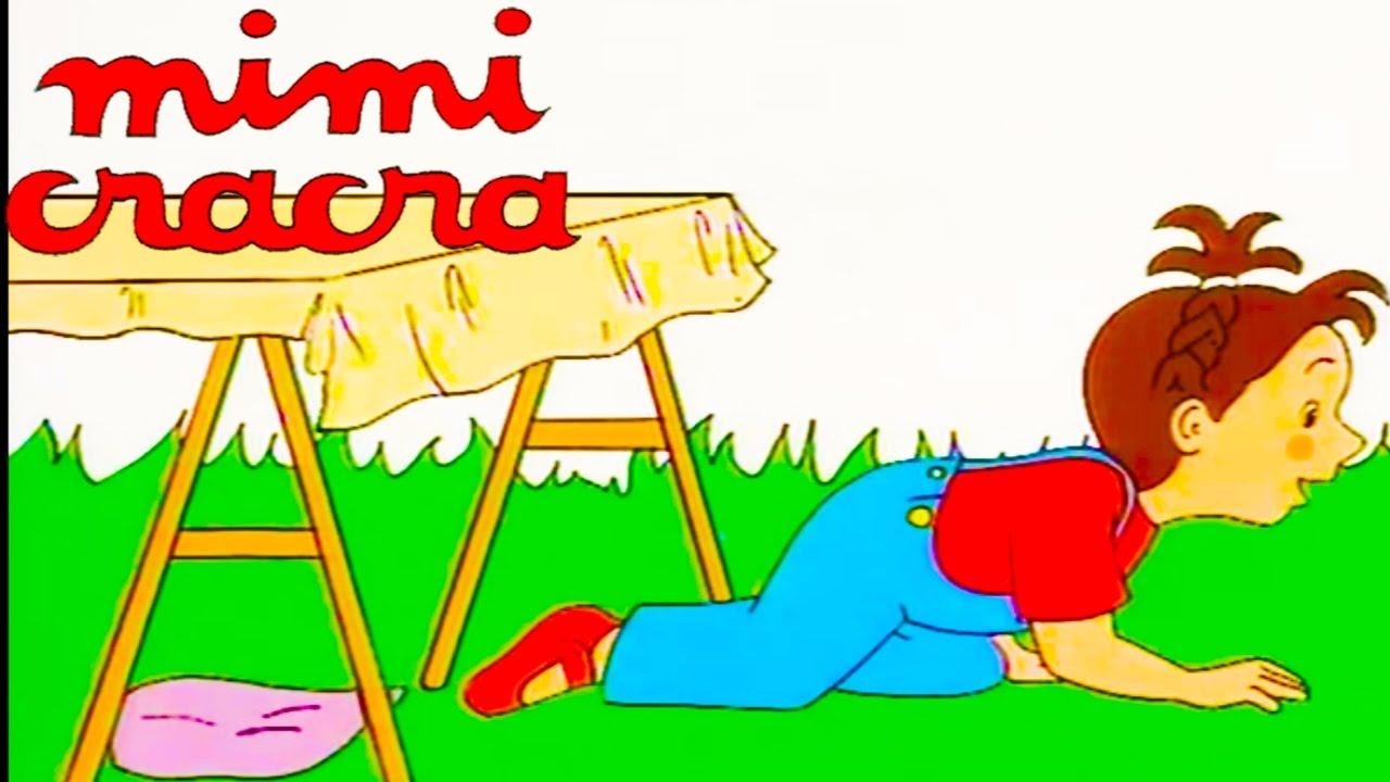 Mimi Cracra Fait La Course D Escargots Et Fait Une Cabane Dessin