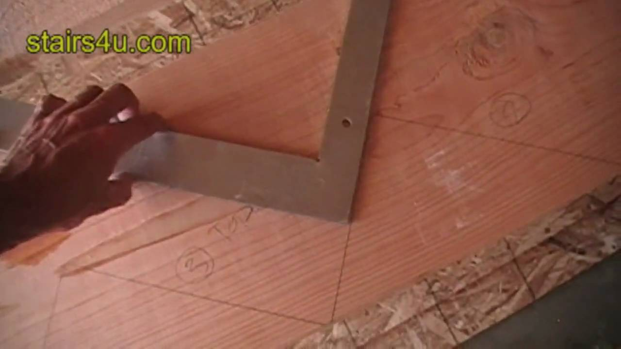 Stair Layout Framing Square Tip - Helpful Construction Advice - YouTube