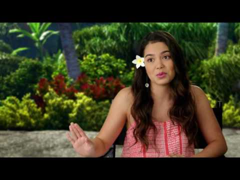 Moana On Set Interview - Auli'i Cravalho