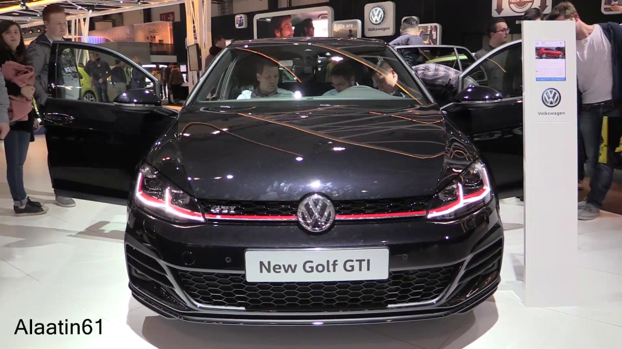 2017 volkswagen golf gti new in depth review interior. Black Bedroom Furniture Sets. Home Design Ideas