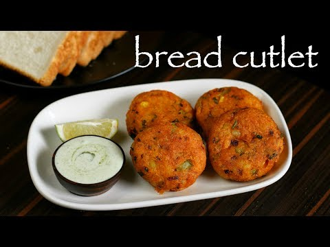 Bread Cutlet Recipe - How To Make Crunchy Vegetable Bread - Cutlets Recipe