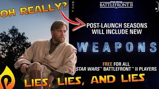 Star Wars Battlefront 2 - 9 Months and Still No Promised Weapons