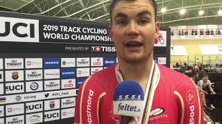 Casper Folsach efter VM-sølvmedaljen i parløb 2019