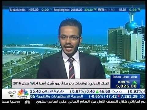 Mohamed Zidan on CNBC Arabia on 05/10/2015