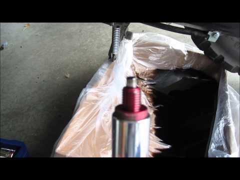 Honda Ruckus Scooter Oil Change Magnetic Drain Plug