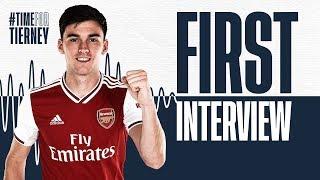 Kieran Tierney's first Arsenal interview