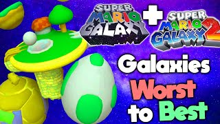 Ranking Every Galaxy in Super Mario Galaxy 1 and 2