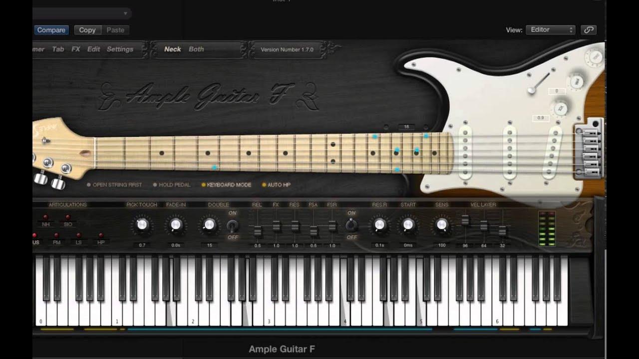 fender stratocaster guitar virtual instrument sound demo neck ample guitar agf youtube. Black Bedroom Furniture Sets. Home Design Ideas