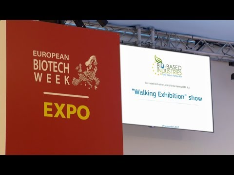 BBI JU Walking exhibition | Biotech week | European Parliament, Brussels