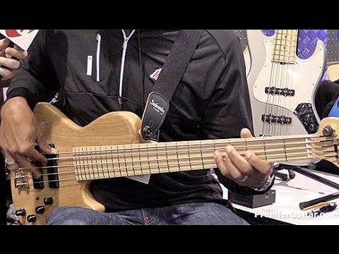 NAMM '16 - Sadowsky Guitars Single Cut Bass, Satin Series, SA200 Bass Amplifier, & LS 13 Demos