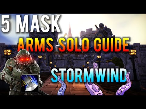 Horrific Vision Of Stormwind 5 Mask Solo Arms Warrior