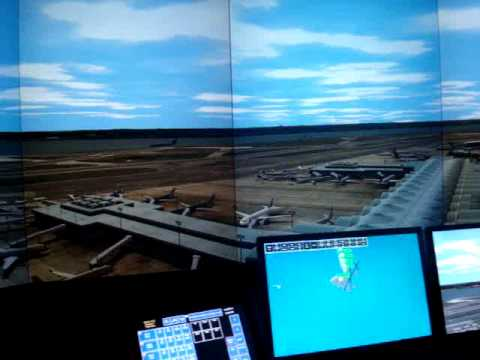 Ronald Reagan Washington National Airport (DCA) Adacel MaxSim Simulation