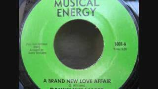 Danny Williams - A Brand New Love Affair (Musical Energy 1001)