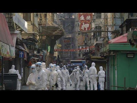 شاهد: هونغ كونغ تعزل حيّاً بأكمله وتجري اختبارات جماعية لآلاف السكان…  - نشر قبل 3 ساعة