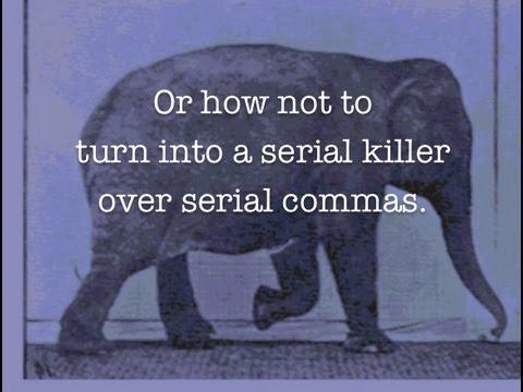"Serial Commas - Does one go before the ""and?"""