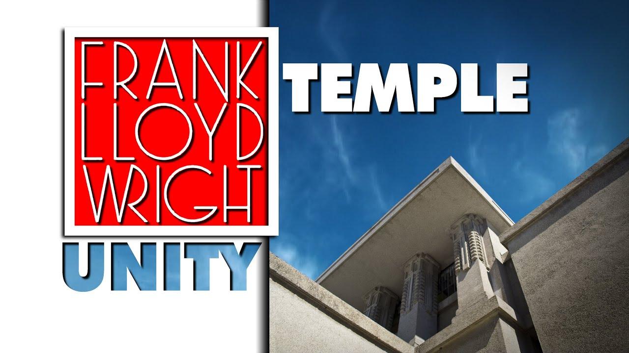 Frank lloyd wright unity temple youtube for Franco piani di lloyd wright