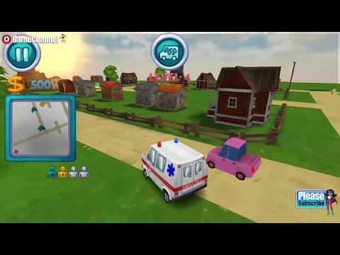 Ambulance Rush 3D / Ambulance Car Driver Game / Browser Flash Games / Gameplay Video #2