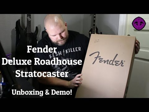 $825 Fender Deluxe Roadhouse Stratocaster | Unboxing and Demo!