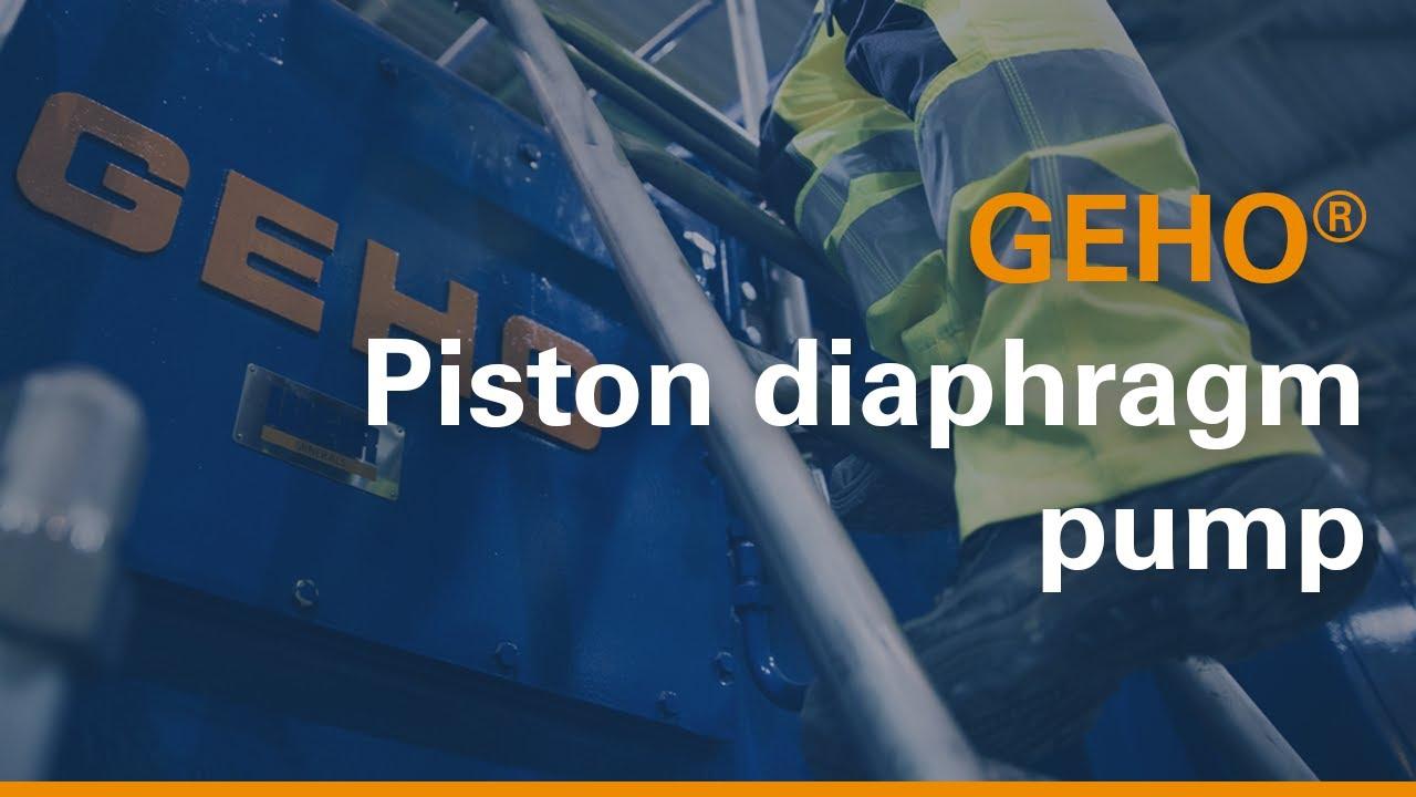 Geho piston diaphragm pump youtube ccuart Gallery