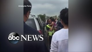 Child Rescued From Hot Car Caught on Camera in Scorching Temperatures