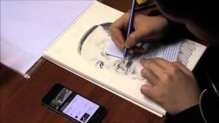 Recep Tayyip Erdoğan Karakalem Çizim (Pencil Drawing)