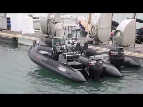 bateau de peche rigide