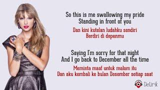 Download lagu Back To December - Taylor Swift (Lyrics video dan terjemahan)
