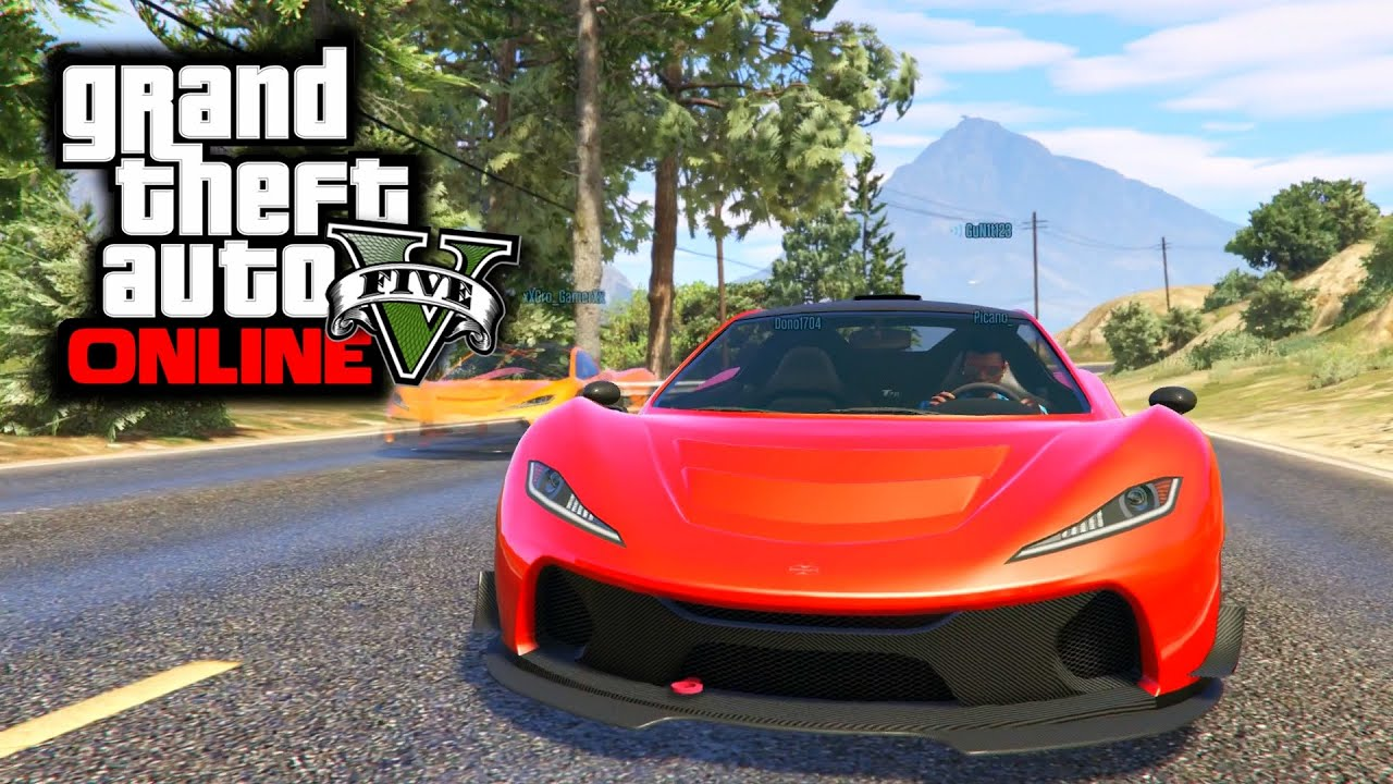 Gta  Online All Super Cars