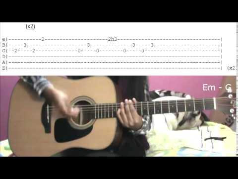 Amnesia - 5SOS (Tutorial de guitarra en español)