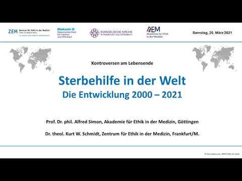 Sterbehilfe in der Welt - Entwicklung 2000-2021