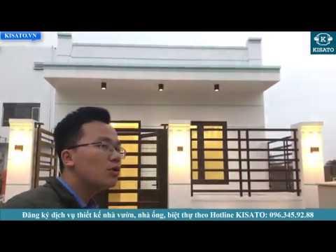 Mẫu Nhà Cấp 4 Đẹp Chi Phí Xây Dựng Siêu Rẻ 400 Triệu Tại Móng Cái Quảng Ninh