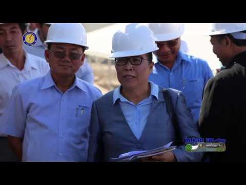 Opening Ceremony EDL-GEN SOLAR POWER - NAXAYTHONG Project