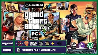 descargar gta v para pc full español utorrent 2018