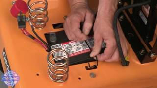 How to Change the Battery in XT Enduro Series Riding Mowers