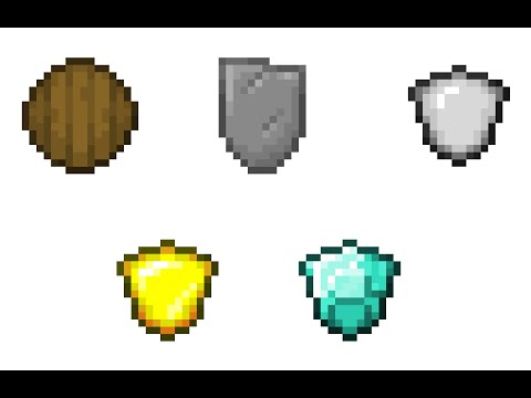 Minecraft|One Command Creation (More Shields 1.9)