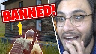 HACKER BANNED L VE ON STREAM  PUBG MOB LE H GHL GHTS  RAWKNEE