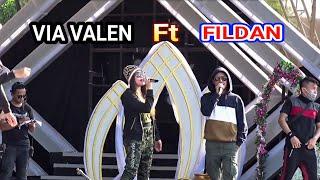 Via Vallen Feat Fildan DI SANA MENANTI DISINI MENUNGGU dan APAKAH SALAHKU
