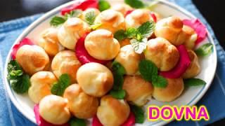 Заварные пирожные с заварным молочным кремом от Dovna Enterprises