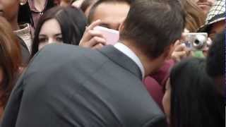 Colin Farrell Signing at Total Recall Premiere UK Premiere 16th August 2012 Part 3 HD