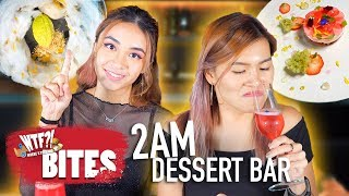Satisfy Your Late Night Sweet Tooth at THIS Dessert Bar!