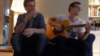 Hot Chelle Rae - Don't Say Goodnight [Acoustic cover by Famous Somewhere]